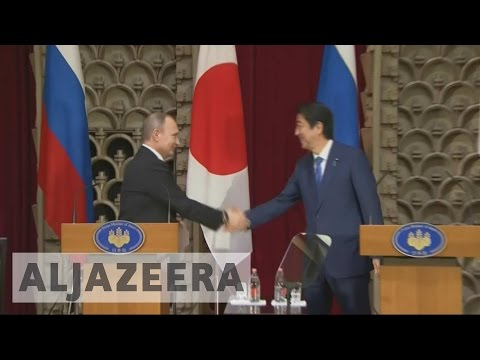 Putin, Abe fail to find resolution for islands dispute