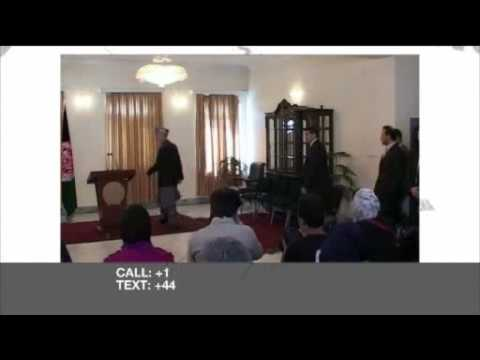 Riz Khan - Afghanistan's political impasse - 20 Oct 09- Pt 1
