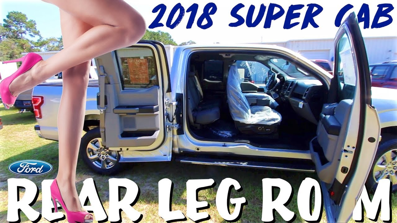 rear legroom review 2018 ford f 150 super cab aka extended cab 6foot man test youtube. Black Bedroom Furniture Sets. Home Design Ideas