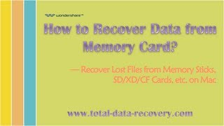 [SD Data Recovery] How to Recover Lost Files from Memory Card (SD/CF/XD/MMC) on Mac?