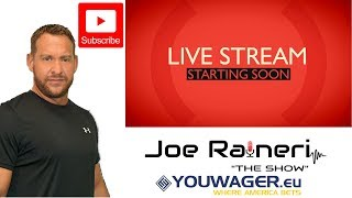 The Joe Raineri Show- Sports News and Betting Advice With Wagetalk's Kevin Dolan