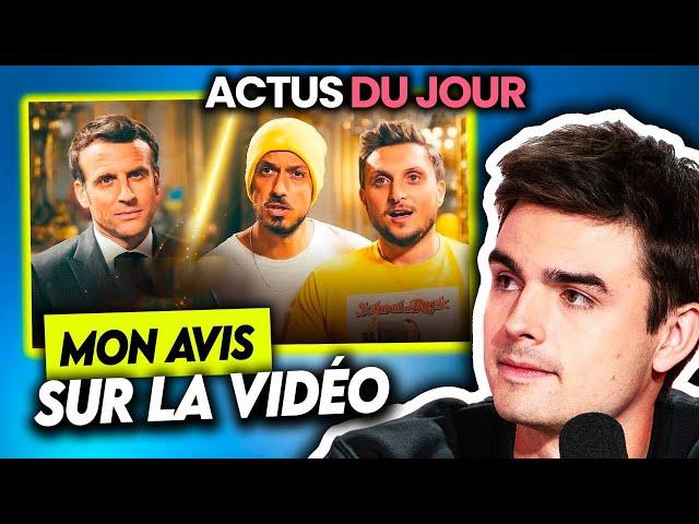 Mon avis sur la vidéo de McFly et Carlito avec Macron, avion détourné, Eurovision... Actus du jour