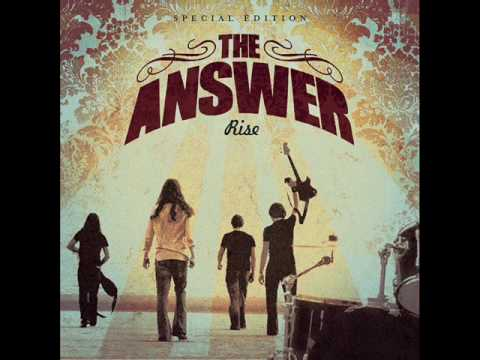 The Answer Rock bottom blues
