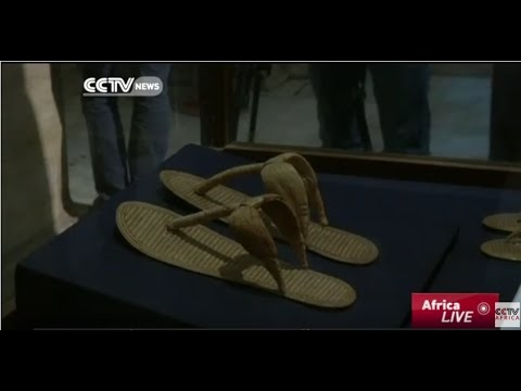 Ancient Egyptian footwear exhibition opens in Cairo