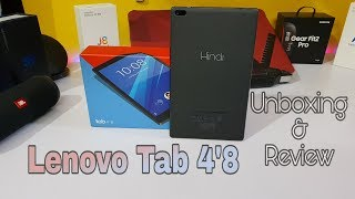 Lenovo Tab 4 8 Unboxing and Review Hindi