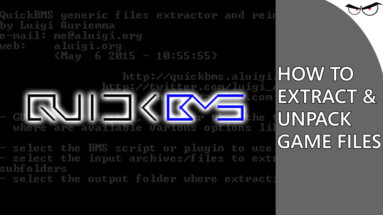 How to Use QuickBMS to Extract \u0026 Unpack Game Files! (Tutorial) - YouTube