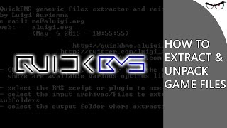 how to Extract Game Files with QuickBMS Tutorial