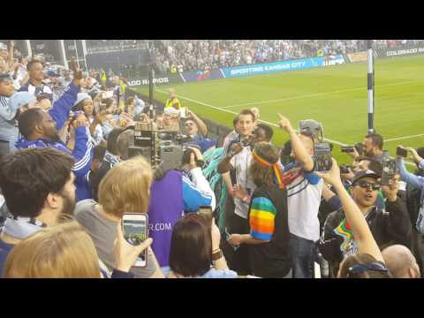 Sporting Kc 20 year anniversary game - Digital as the Cappo in the Cauldron