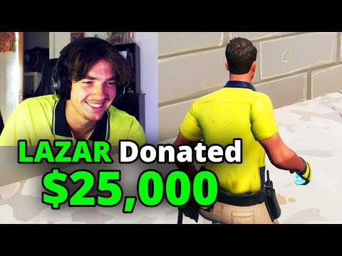 Wear My Skin = Donate $25,000 - LazarBeam
