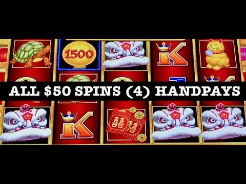 ⚡️LIGHTNING LINK HAPPY LANTERN ⚡️(4) HANDPAYS HIGH LIMIT $50 SPINS ⚡️SLOT MACHINE THE COSMOPOLITAN - 동영상