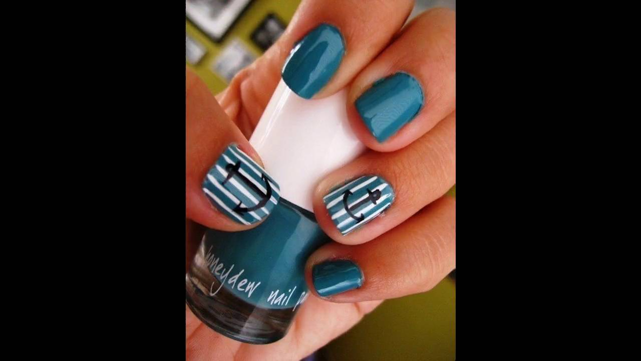 Uñas Decoradas Con Colores Vivos Youtube