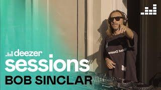 Bob Sinclar mixe par surprise sur un balcon parisien | Deezer Session