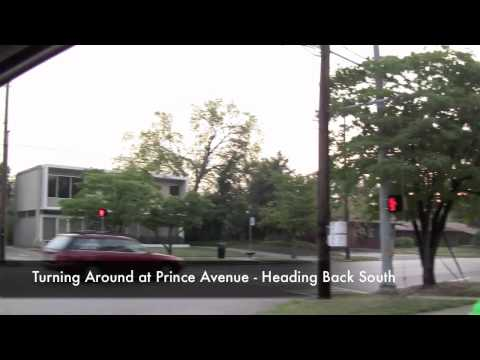 athens ga city guide - vidatown athens ga video - milledge avenue road ride
