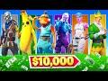 $10,000 Random Skin Challenge In Fortnite!