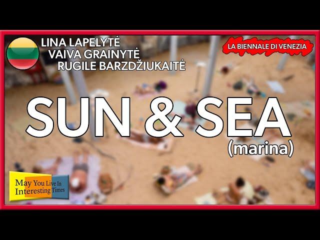 Lithuania - Sun & Sea (Marina) - Venice Art Biennale 2019