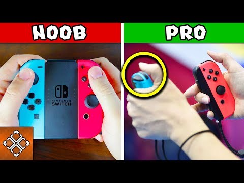10 Things Only Pro Gamers Know About The NINTENDO SWITCH