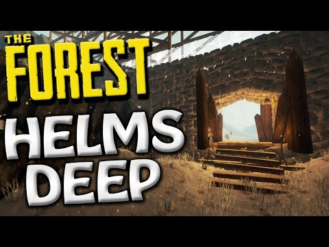 The Forest - HELMS DEEP ADDED TO OUR CASTLE BASE! - Update 0.52 Gameplay - S2 EP33