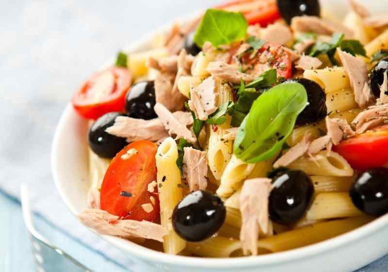 menu settimanale di dieta mediterranea