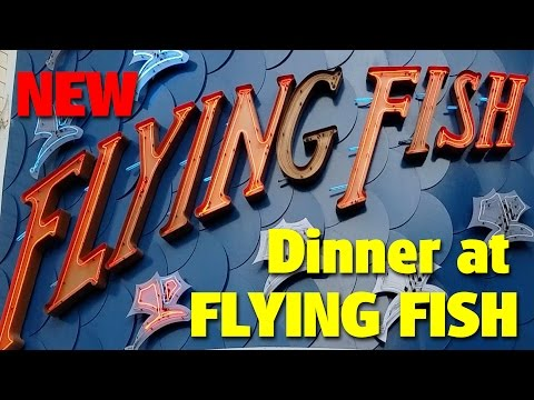 New Dining At Flying Fish | Boardwalk Inn