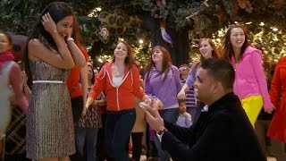 Awesome Bollywood Flash Mob Marriage Proposal!