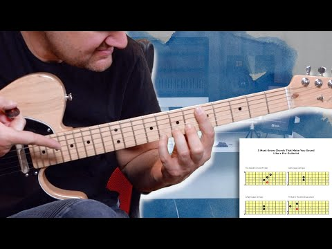 These Chords Make You Sound Like a Pro Guitarist