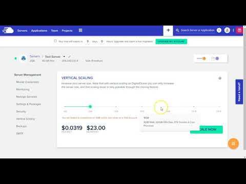 Cloudways - setup billing & add funds, guide