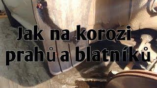 #39# Škoda Octavie 2006 - ochrana prahů a blatníků před korozí