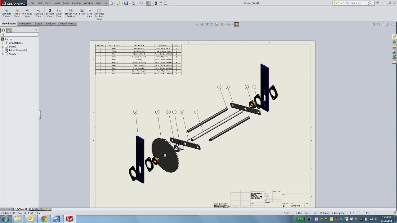 assembly drawing Assembly drawings design presentation has skilled cad technicians who can prepare assembly drawings that depict how individual components are joined or bolted to form complete assemblies.