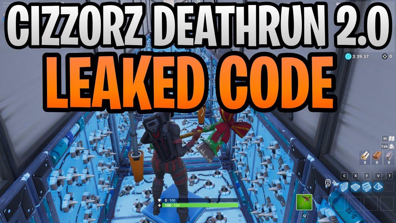 cizzorz deathrun 2.0 code