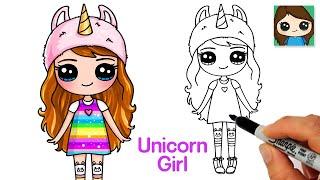 How to Draw a Cute Unicorn Girl LOL NaNaNa Fashion Doll