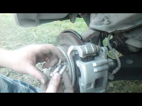 Замена тормозных колодок Ховер 3