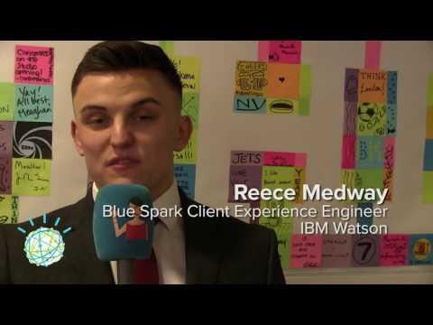 IBM Watson, Blue Spark Client Engineer, Reece Medway