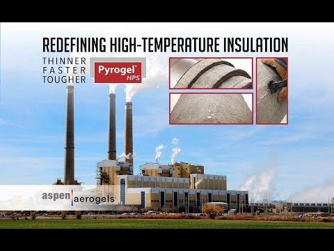Pyrogel HPS High-Temperature Insulation for the Power Industry