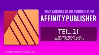 Affinity Publisher Teil 21: Tipps und Tricks zum Freistellen von Bildern