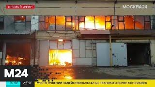 Смотреть видео Эксперт по пожарной безопасности рассказал, как себя вести во время пожара - Москва 24 онлайн