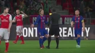 PES 17 MyClub DIV 7 Match Gameplay ft Suarez,Ramos,Rodriquez,Di Natale,Clyne