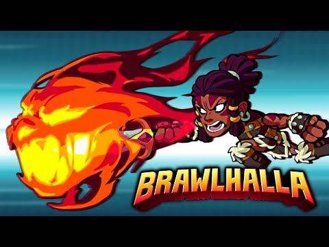 THREE DOUBLE KO's in 2v2?! • Jhala Showcase • Brawlhalla Gameplay - 동영상