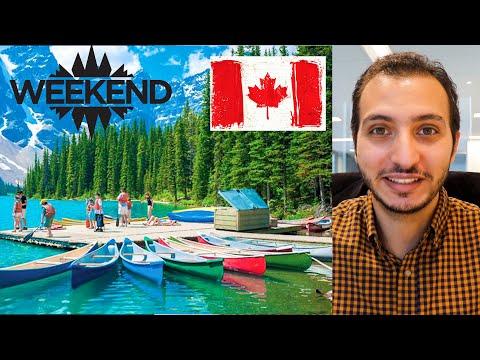 دليل الاستمتاع بالأجازات في كندا