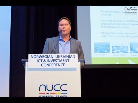 Nils Sundling at Norwegian-Ukrainian ICT & Investment Conference, Oslo, Nov 11, 2015