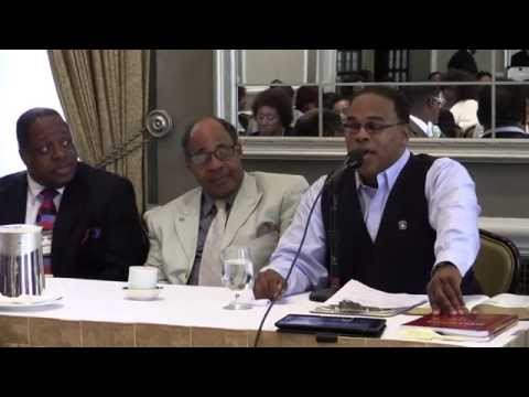 """Bishop Ira Combs teaching """"The History of the Bishops of the P.A. of W."""" www.gbwt.net"""