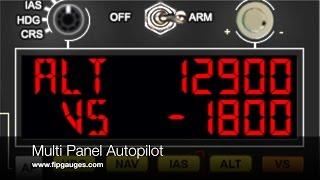 Multi Panel Autopilot for Saitek Flight Information Panel & SPAD.neXt