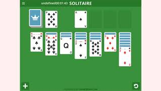 How to play Solitaire Basic game | Free online games | MantiGames.com