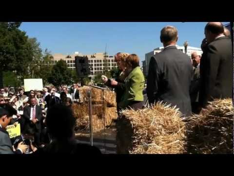 Sen. Debbie Stabenow at Farm Bill Now rally