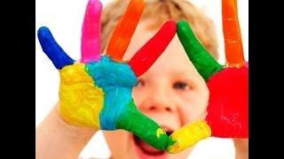 Развивающие уроки и мультфильмы для детей. Учим цвета, Голубой цвет