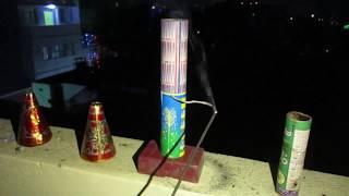 दीवाली 2018 की रात को तहलका मचा दीया ! Diwali Crackers Celebration 2018 ! Fire Crackers Video 2018 !