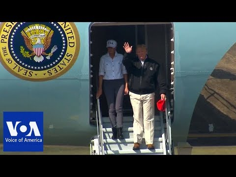 Sarah Jacobs - President Trump visits the Panhandle