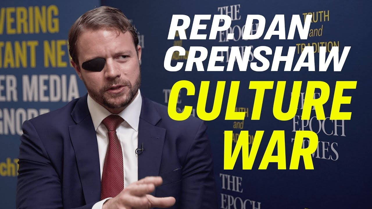 "American Thought Leaders Rep. Dan Crenshaw: On Identity Politics, Marxism & the Left's ""Ideology"