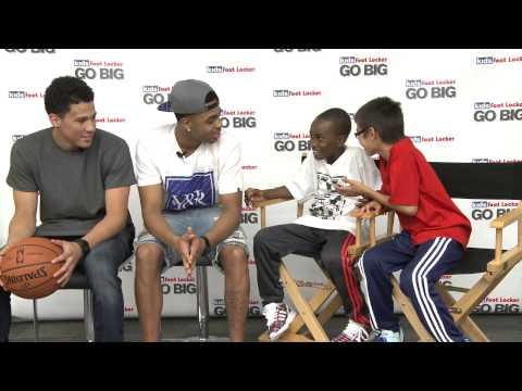 Kids Foot Locker x D'Angelo Russell x Devin Booker - Media Training
