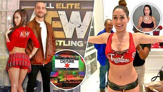 CM Punk SIGNS with AEW & Brings Surprise... Nikki Bella's Clothes STOLEN... BIG E CASHES IN!