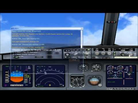 Repeat fokker 50 Cali(SKCL) to Medellin(SKMD) Colombia [FSX] by